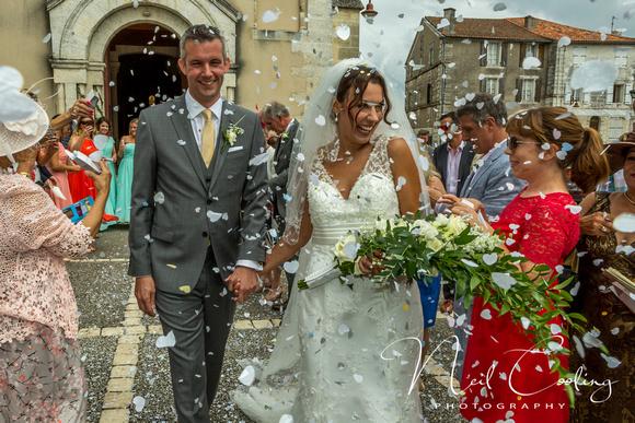 Rachael & Neil Wedding, Chateau La Gauterie (170 of 453) - 2476